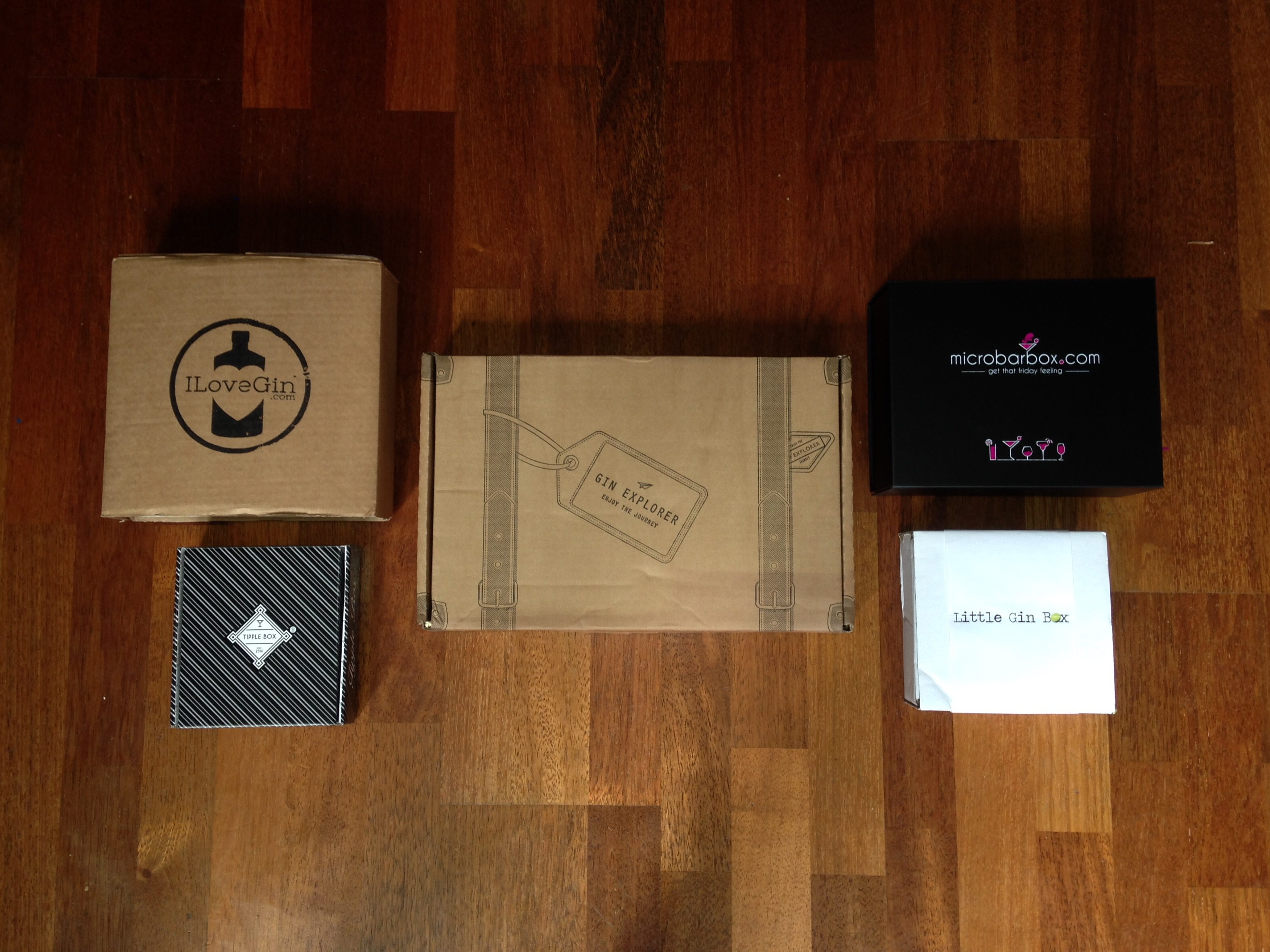 Boxing Clever! A review of gin subscription services | Gin A